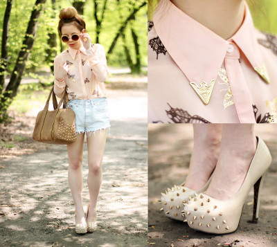 lookbookdotnu:  Butterflies (by Wioletta ♡ Mary Kate)