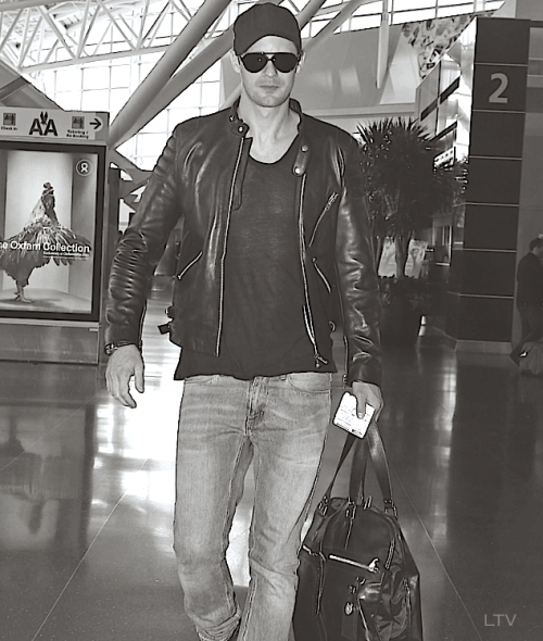 Alexander Skarsgård  | JFK Airport (May 7, 2013)