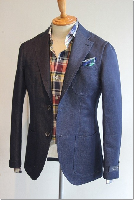 sartorialdoctrine:  The perfect casual sportcoat by Ring Jacket.
