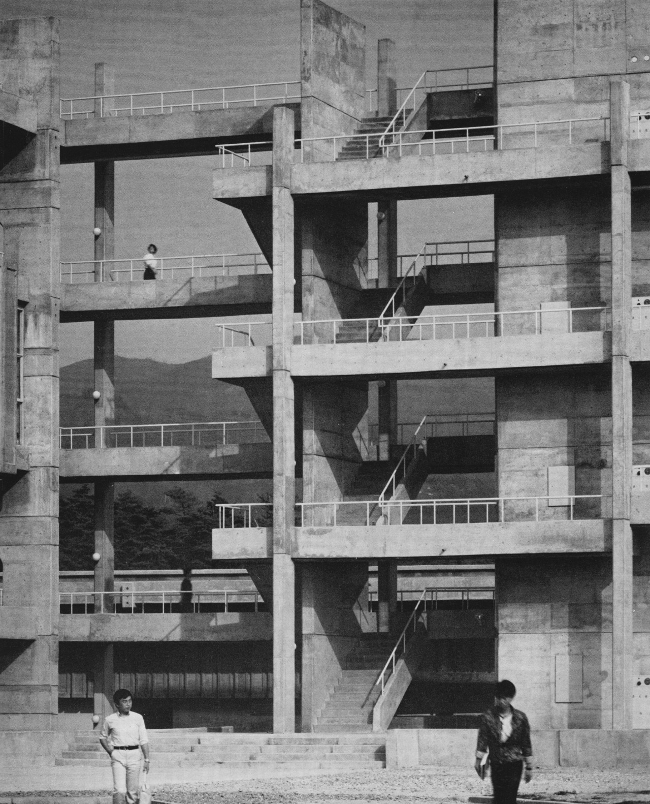 Osaka University of the Arts, Japan, 1965-67 (Daiichi Kobo Planning Group)