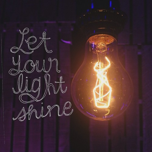 "spiritualinspiration:  ""Let your light so shine before men that they may see your moral excellence and your praiseworthy, noble, and good deeds and recognize and honor and praise and glorify your Father Who is in heaven"" (Matthew 5:16, AMP)   Do the people around you see your light shining? Do they know you are a believer by your actions? Are you setting the bar in your office? Can people see your good works?  I know people who can quote half the Bible and pray two hours a day, but they have no influence or credibility because they're sloppy in the workplace. They're always late or wasting time. They're not productive. They're not efficient. No one will even listen to them.  I heard somebody say, ""Your performance gives you a platform."" When you excel in what you do, that gets people's attention. The way to gain respect, the way to gain influence is to develop your character and skills in such a way that people want what you have. They may not agree with what you believe, but when you are the best in your company, they can't argue with that. You've earned their respect, not by your words, but by your spirit of excellence.  I encourage you today, don't settle for mediocrity. You are a child of the Most High God. Make the decision today to let your light shine and bring Him glory in everything you do!"