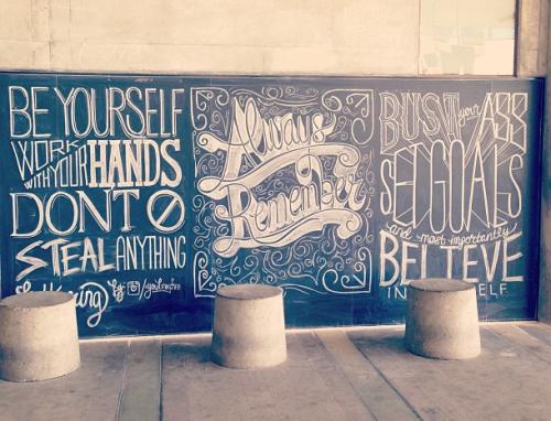 Typography by Scott Biersack