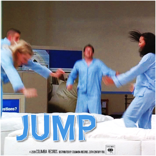 1x12 Mattress | Jump Alternative Cover 'The Infinite Brittana Series'