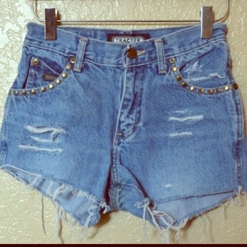 I just added this to my closet on Poshmark: Distressed Studded Highwaisted Shorts. (http://bit.ly/VAWUUj) #poshmark #fashion #shopping #shopmycloset