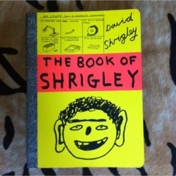 "BEST BOOK EVER. ""The Book Of Shrigley"" by David Shrigley."