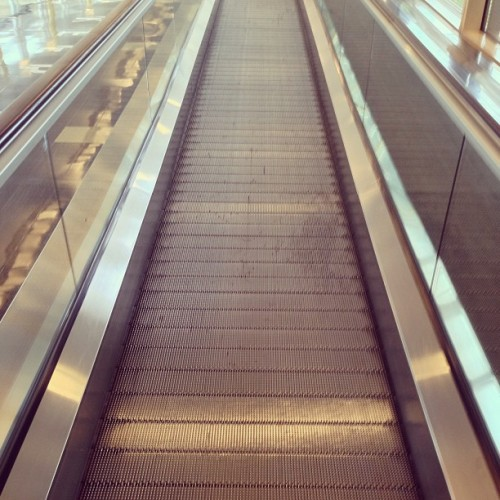 Day 135: #365underfoot People mover. #lookdown  (at Ronald Reagan Washington National Airport (DCA))