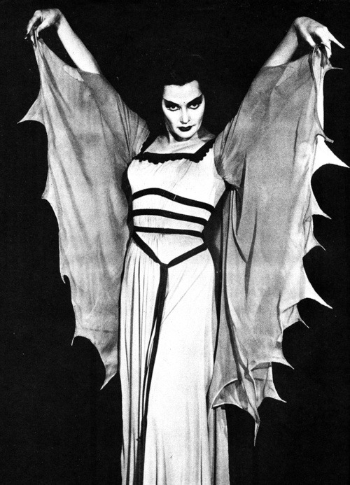cryptofwrestling:  Lily Munster - Vampire / Housewife. (1964)