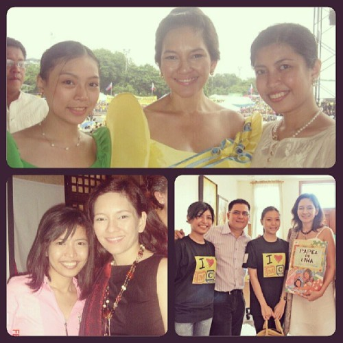 However the polls turn out today, Risa Hontiveros my Senator! #TeamPNoy #Hontiveros #election #2013  (at Taal, Batangas)