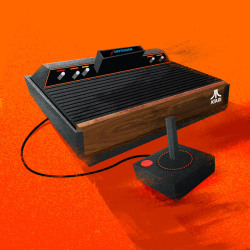 Vintage console illustrations