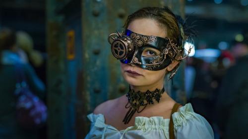 Steampunk Tendencies Steampunk Steam punk Steampunk Art Art Amazing Steampunk girl Raven