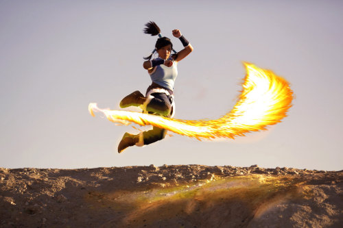 Korra Cosplay - Learned from the Dragons by ~eloquium