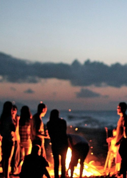 I'm ready for summer nights, bonfires on the beach with friends and staying up late just chillin
