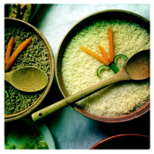 Organic, hand-prepared couscous from Algeria's Kabilye mountains.