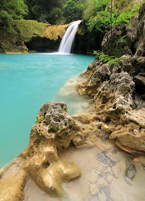 visitheworld:  Tanap Avis Falls in Ilocos Norte, Philippines (by event.essentials).