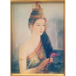 #ancient #thai #women in a traditional #thai #costume so #beautiful #feminine and #exotic #iloveit