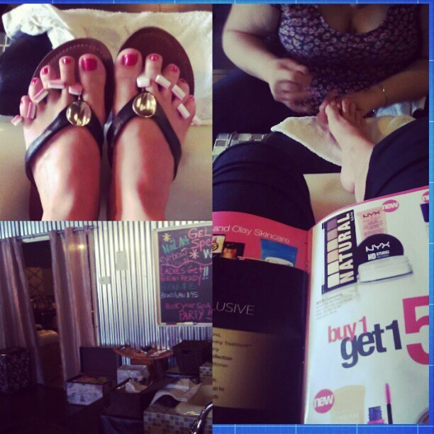 #meday #nailsdid #pedicure #newfavspot #xclusivenailbar #Orlando #wine