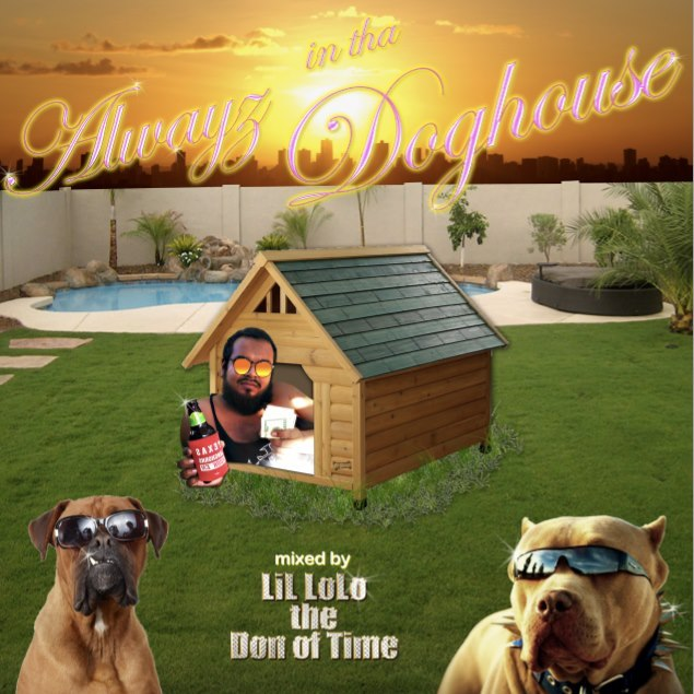 Always in tha Doghouse, 2013Mix tape by Carlos Rosales-SilvaFrom his contribution to the online zine Image File Press