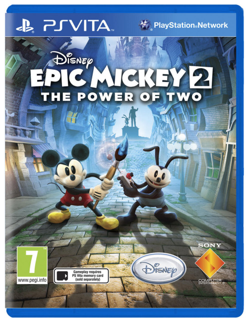 Disney Epic Mickey 2 coming to PS Vita later this year Disney icon Mickey Mouse will be making his PS Vita debut later this year with a port of the second Epic Mickey game coming to the Sony handheld. It's unclear who's handling the port, but hopefully the frame rate problems seen in some versions of the game won't be present. Also unclear is how the touchscreen and motion sensors will come into play. It'll be interesting to see how this plays out seeing as though the game didn't review particularly well and even saw the closure of developer Junction Point.