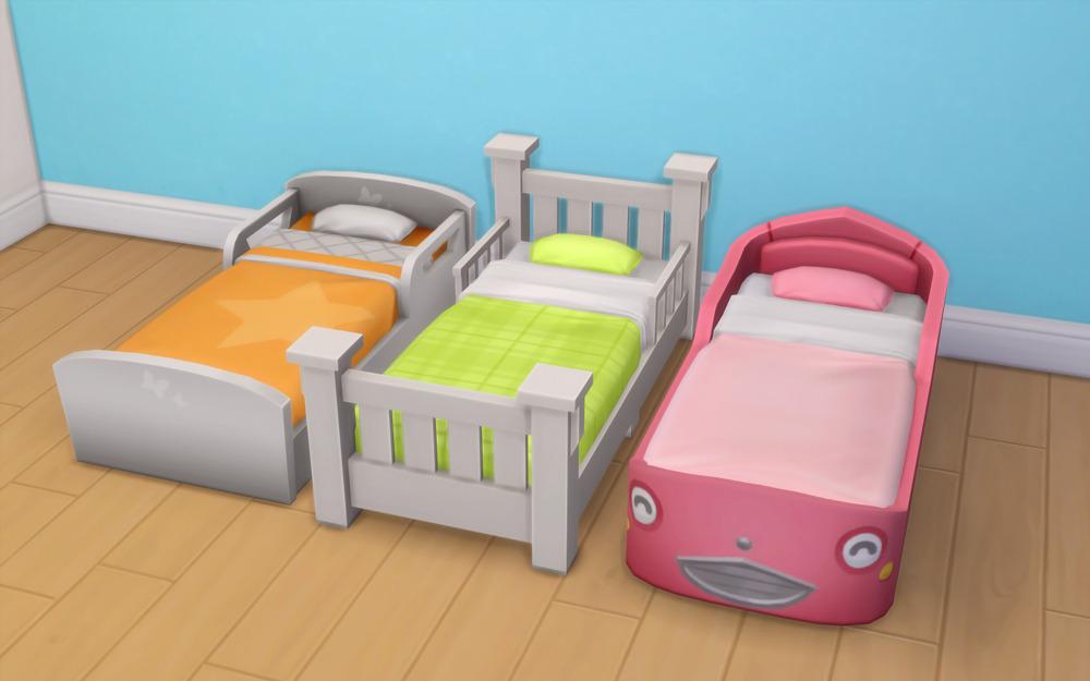 Toddler Beds Sims  Cc