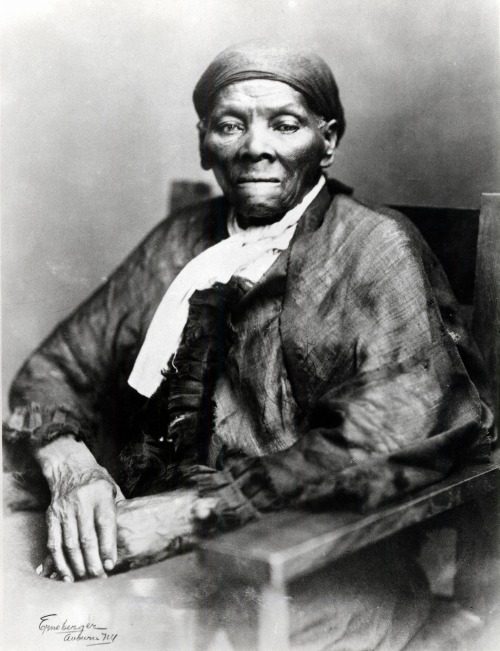 "pbsthisdayinhistory:  March 10, 1913: Harriet Tubman Dies ""I was conductor of the Underground Railroad for eight years, and I can say what most conductors can't say – I never ran my train off the track and I never lost a passenger.""  - Harriet Tubman  The underground railroad was a lifeline for slaves escaping to freedom, and Harriet Tubman was undoubtedly one of its most famous ""conductors."" One hundred years since her passing (March 10, 1913), we invite you to revisit the life and legacy of Harriet Tubman.  100 years since her passing. What would Harriet think if she saw us today?"