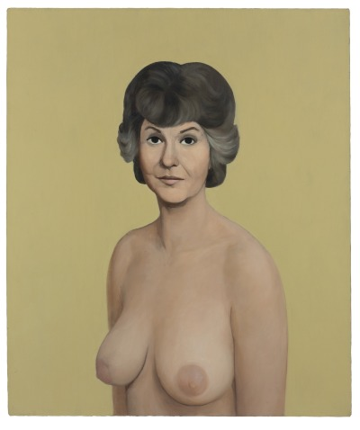 Thank you for being a friend, John Currin…   Bea Arthur (1991) sold yesterday at Christie's for $1.9 million. Whah-bam!