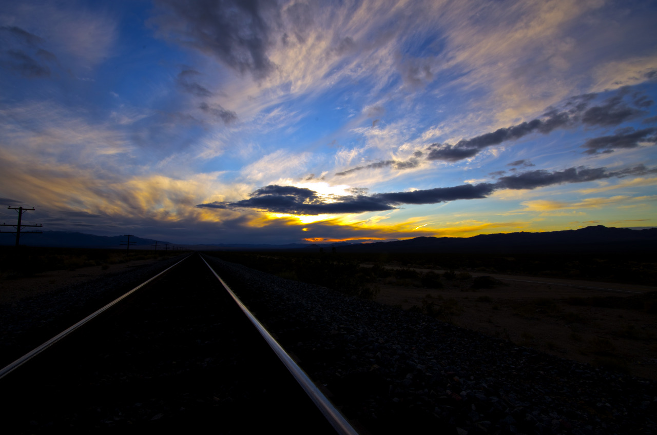 by ~jomastso~ Union Pacific Railroad, Mojave Desert, California