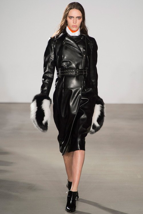 i now need gigantic fur mittens…. Altuzarra Fall 2013 look 21