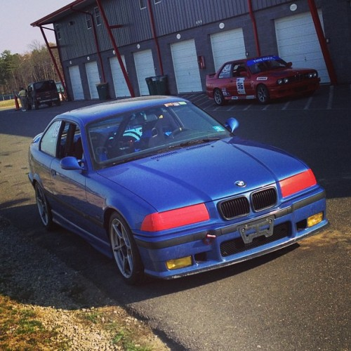 She done good… Wish I did the same… #NJMP #E36 #NJBMWCCA  (at NJMP Thunderbolt)