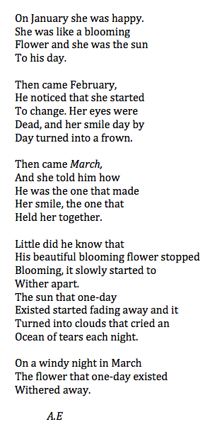 vodkakilledtheteens:  vodkakilledtheteens:  his blooming flower - A.E  i love this so much