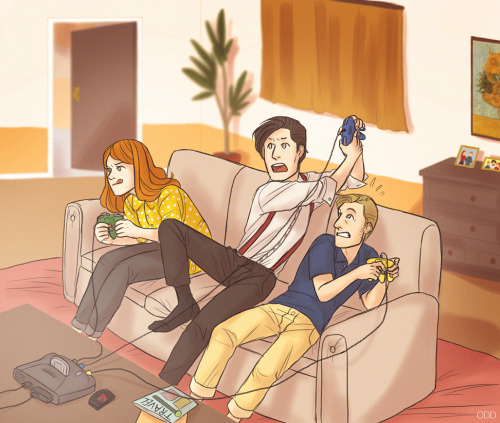 3 - Gaming by ~thatoddowl