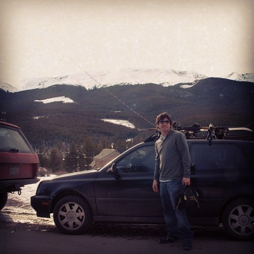 #tbt Me and my #VW #GTI #VR6 in #Breckinridge #Colorado #CO #2002