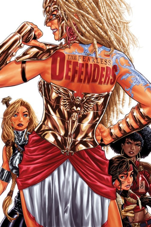Wonder Woman Joins the Fearless Defenders?! Marvel plans to troll DC with a Wonder Woman analog in Fearless Defenders. Read More