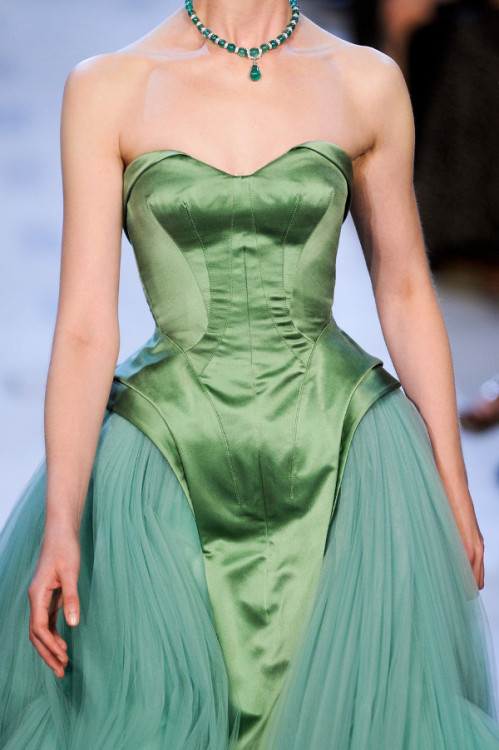 feathered-lashes:  couture—princess:  Zac Posen 2013