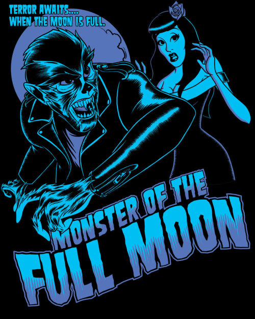 Full Moon Monster by ~zombie-you