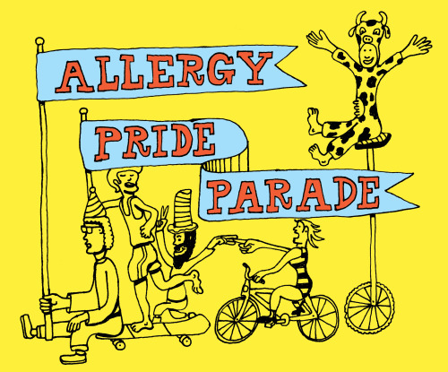 portlandiabite:  What allergy will you be representing? (via)