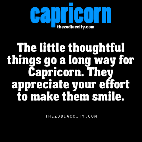 zodiaccity:  Zodiac Capricorn facts.