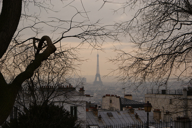 parisbeautiful:  Vue de Paris by Hélo J. on Flickr.
