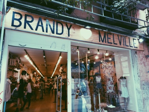 Brandy melville madrid online