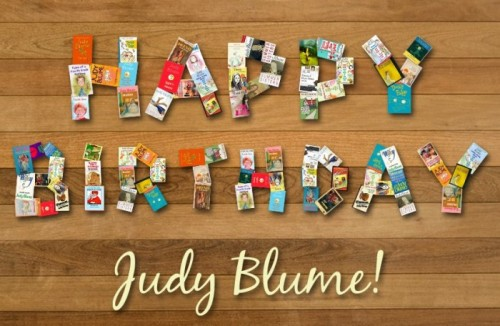 HAPPY BIRTHDAY, JUDY BLUME! WE LOVE YOU!by HelloGiggles Team http://bit.ly/14QxrXl