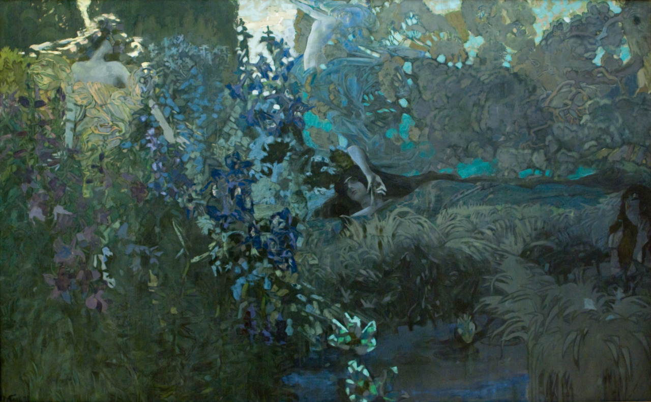 sullenmoons:  Morning - Mikhail Vrubel, 1897