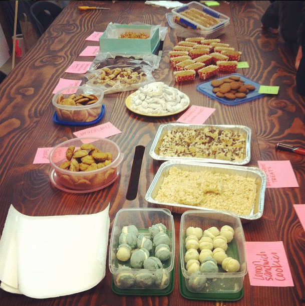 From our instagram: Yesterday we hosted a cookie swap in Artspace HQ!