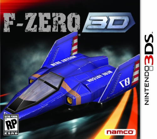 F-Zero 3D [Nintendo 3DS] It's what all the die hard fans have been waiting for! Nintendo and this time with the help of Namco, team up and deliver a masterpiece for the 3DS!