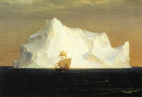 bochtscha:  Frederic Church -The Iceberg [1891]