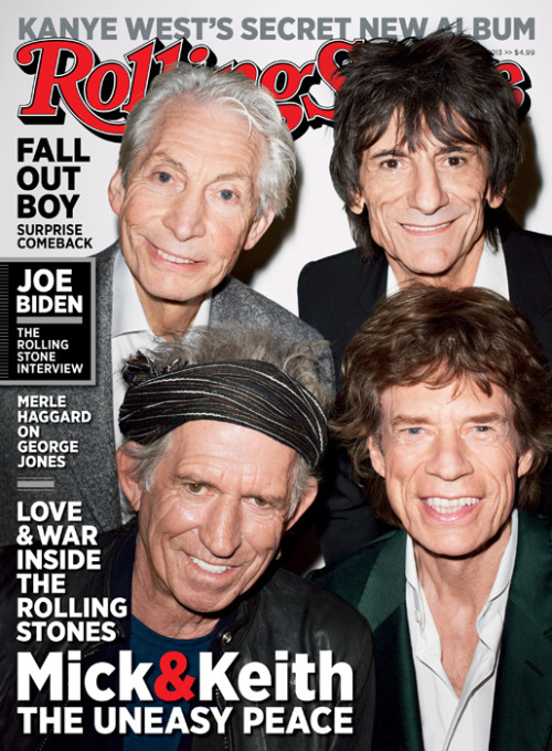 "rollingstone:  Later, I try one more roundabout question about Jagger's relationship to Richards. Talking about the band's emotional ups and downs, [Charlie] Watts told me, ""The two big offenders of that virtually lived together when they were kids, didn't they? They lived down the road from each other. It comes from all that. They're like brothers, arguing about the rent, and then if you get between it, forget it."" This has been echoed by [Keith] Richards himself, who told another magazine recently that he and [Mick] Jagger were like ""two very volatile brothers – when they clash, they really clash, but when it's over …"" Does Jagger see it that way? ""People always say things like that,"" Jagger replies. ""But I have a brother [Chris Jagger], you know? My relationship with my brother is a brotherly relationship, and it's nothing at all like my relationship with Keith, which is more like someone you work with, completely different. With a brother, you have parents in common. You have families in common. We don't have that, Keith and I. We work together. It's nothing to do with it being a brotherly relationship. I suppose if you didn't have a brother you might say that it was like being a brother. But being in a band is another kind of relationship."" Click through to read our full cover story on how the Rolling Stones endured drugs, booze, tragedy and each other to bring back the greatest show on earth."