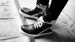 New shoes ! Rick Owens Geobasket ss13