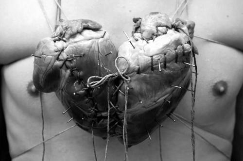 lovequotesrus:  The stereotypical heart shape was meant to be two hearts fused together.