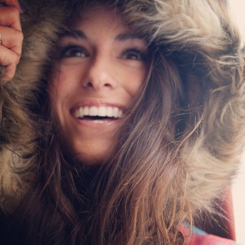 .seek the joy of being alive.// #bbdakota #fur #girl #hood #hair #smile #happy #life #light #sanfrancisco #portrait #window #ombre