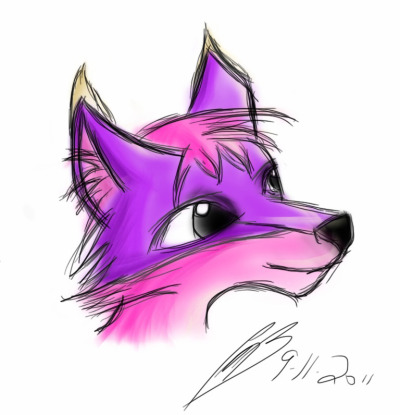Random drawing with an iPad. http://coji.deviantart.com - http://www.foxbeak.com