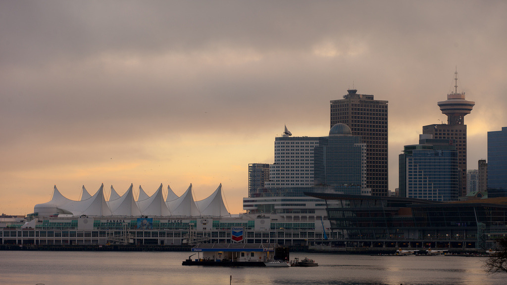 Canada Place (by Timedrops Media)