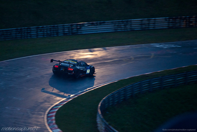 gasinblood:  Nurburgring 24hrs 2013 by motion_captured on Flickr.